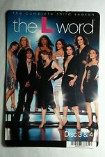 THE L WORD THIRD SEASON COVER ART PHOTO MINI POSTER BACKER CARD (NOT a movie )