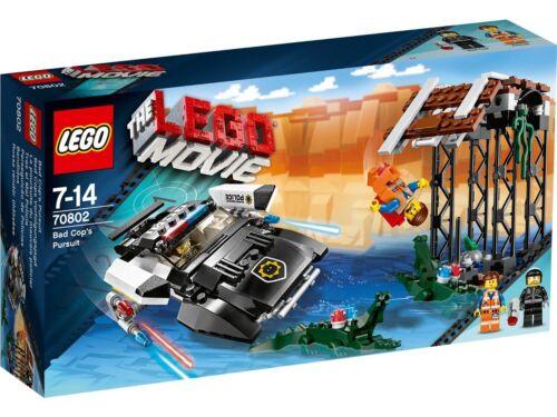 The LEGO Movie 70802 Bad Cop/'s Pursuit NIB 314 Pieces RETIRED