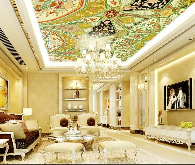 3D Pure Painting Ceiling WallPaper Murals Wall Print Decal Decal Decal Deco AJ WALLPAPER GB 33c145