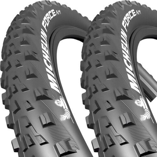 2x Michelin Reifen Force AM Perf falt 27,5 27,5x2.35 58-584 TLR GUM-X Tri