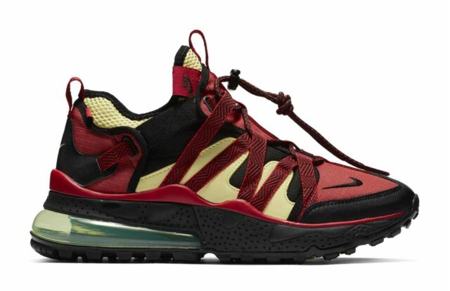 differently d1560 f9c96 NIKE AIR MAX 270 BOWFIN BLACK/UNIVERSITY RED MEN'S RUNNING AJ7200-003 NEW  W/BOX