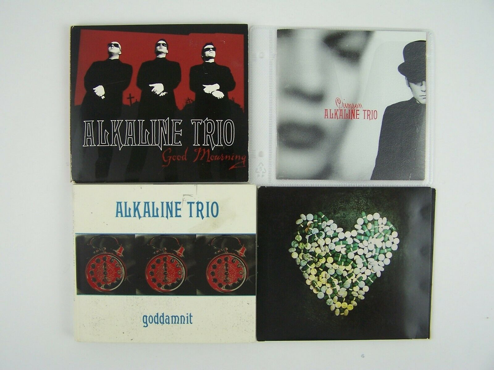 Alkaline Trio Miscellaneous 4xCD Lot #1