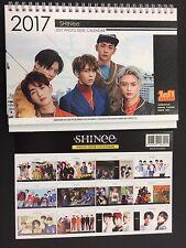 Kpop 2017 & 2018 K pop Shinee High Quality Official Photo Desk Calendar