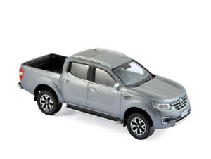 Norev-1-43-518397-Renault-Alaskan-Pick-up-2017-Dark-Grey-NEW
