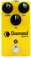 Diamond Pedals Cprjr Jr Optical Compressor Effect Pedal W/eq
