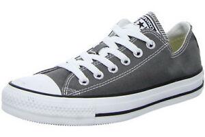 Converse-Leinen-Canvas-Sneaker-1J794-Chucks-ox-Schnuerung-grau-charocal