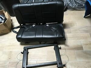 Hummer H1 Jump Aux Bench Seat Original With Belts And