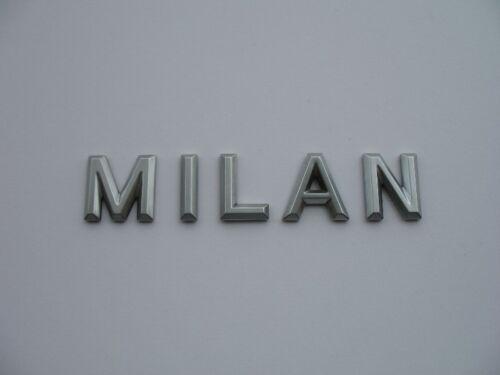 2006 MERCURY MILAN REAR SIDE EMBLEM LOGO DECAL BADGE SIGN SYMBOL SET 06 07 08 09