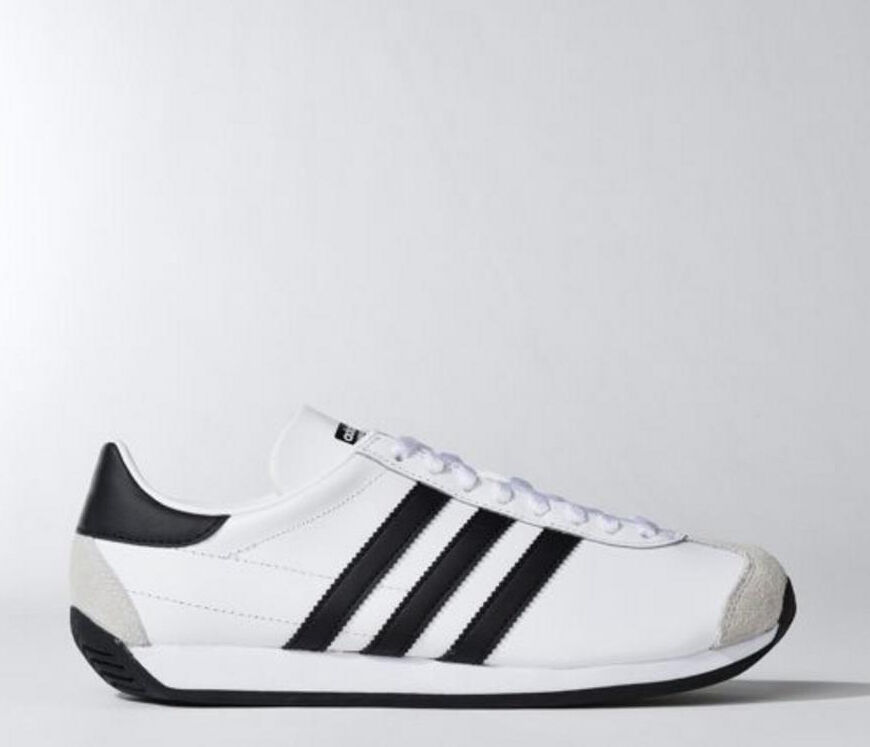 [Adidas] S81862 Country OG White Black Men Women Running Shoes Sneakers