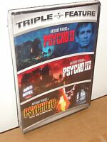 Psycho Ii / Psycho Iii / Psycho Iv: The Beginning (triple Feature) (dvd)