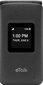 Verizon Prepaid Verizon Wireless Takumi eTalk with 4GB Memory Prepaid Flip Phone