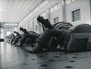 CENTRALE HYDRO ÉLECTRIQUE EDF c. 1960 - Alternateurs Neyrpic Savoie  - Div 5758