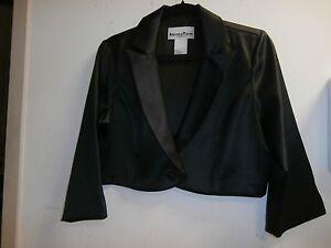 Nwt En Shrug anden Bolero Thyme Sz Black Large Jacket q8A18n