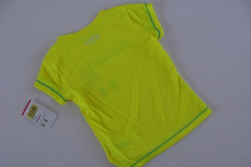 Under Armour Heat Gear Tee Running Shirt Top Girls Size 2T NWT Yellow Awesome