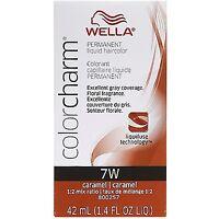 Wella Color Charm Liquid Haircolor 7w Caramel, 1.4 Oz (pack Of 2) on sale