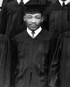 1948 Martin Luther King Jr Glossy 8x10 Photo History Print Morehouse