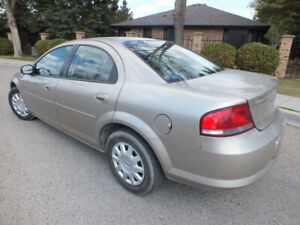 04 SEBRING LX SEDAN -MINT CONDITION -91K -FACTORY WINDOW STICKER
