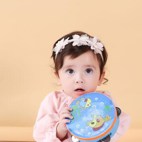3-36 Month Baby Toddler Kids Headband Chiffon Flower Toddler Girls Christening