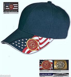 Firefighter-Flag-Baseball-Cap