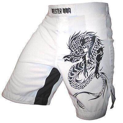 MMA Fight Training Boxing S M L XL MEISTER STRETCH SPRINT BOARD SHORTS BLACK