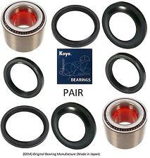 Rear Wheel Hub with KOYO Bearing /& Seals Kit For 98-08 SUBARU FORESTER PAIR