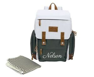 Personalized Diaper Bag Backpack