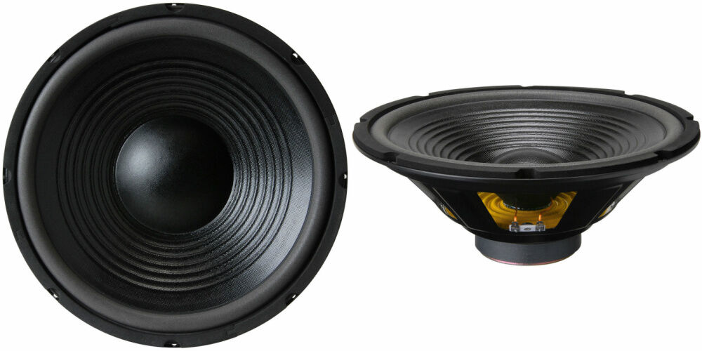 NEW (2) 12  Woofer Speakers.Bass Driver.Home Audio 8 ohm.replacement PAIR.12inch