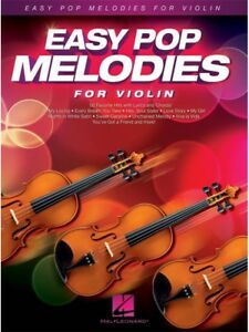 Details about Easy Pop Melodies For Violin Learn to Play Chart Hits Songs  FIDDLE MUSIC BOOK