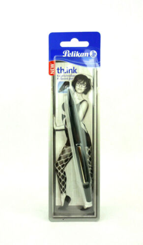 schwarz Pelikan th.ink Kugelschreiber Ballpoint Pen ergonomische Griffzone