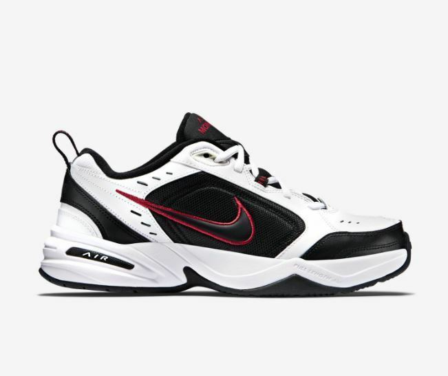 Nike Air Monarch IV White Red Black For Men's New In Box Original