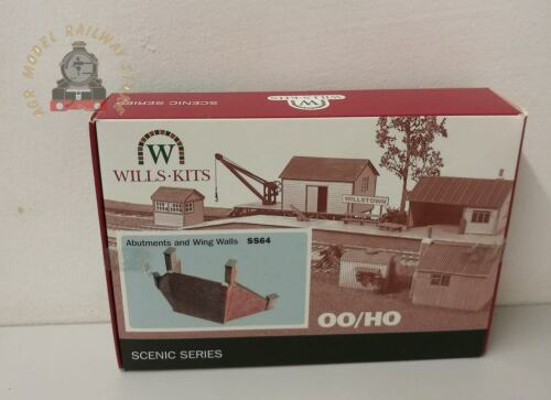 OO Gauge Wills SS64  Abutments with Wing Walls