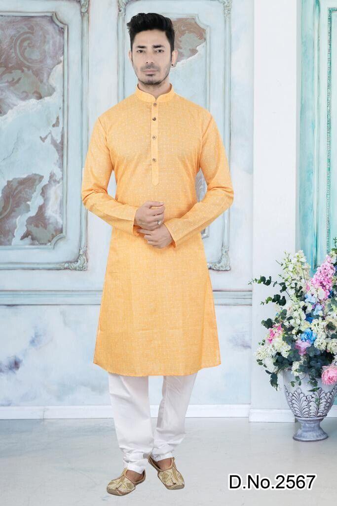 India/Pakistan Men's Cotton shalwar kameez pyjama formal wear Wedding Party