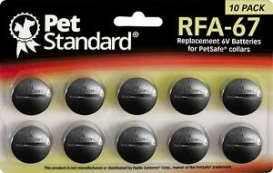 PetSafe-Compatible-RFA-67-Replacement-Battery-10-pack
