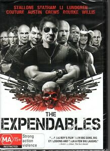THE-EXPENDABLES-DVD-R4-2010-Stallone-Statham-Li-Lundgren-NEW-amp-SEALED