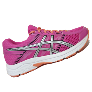 ASICS-WOMENS-Shoes-Gel-Contend-4-Pink-Glow-Silver-amp-Black-T765N-2093