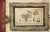 in Season Cross Stitch Pattern By Country Stitches-with Thy Needle Sampler