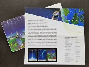 SJ-Malaysia-East-Asia-Satellite-MEASAT-1996-Space-Astronomy-p-pack-MNH