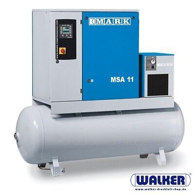 Gehorsam Schraubenkompressor Mark Msa 11 D - 11kw Mit Trockner - Kessel - Filter