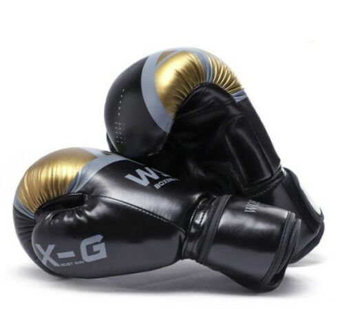 Guantes De MMA kick boxing para Hombre y Mujer Entrenamiento Adultos y Niños NEW
