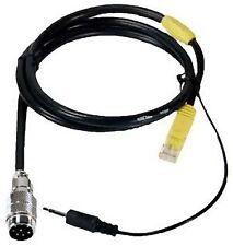 Heil Sound HSTA-YM6 Mic adapter cable: Yaesu 6-pin modular