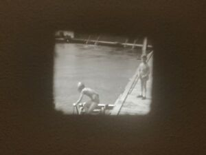 Film & Bildprojektion Antiquitäten & Kunst 16mm Privatfilm Ums 1935 Kinder Badespass Am See #10 Angenehme SüßE