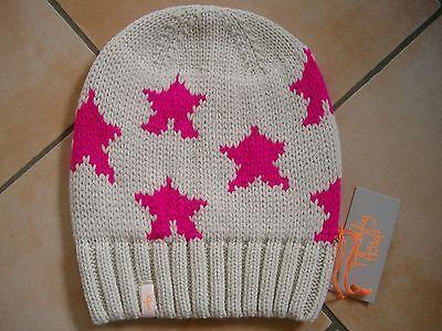 (m23) Grezzo A Maglia Berretto Freaky Testa Beanie Inverno Cappello Little Stars Con Logo-mostra Il Titolo Originale