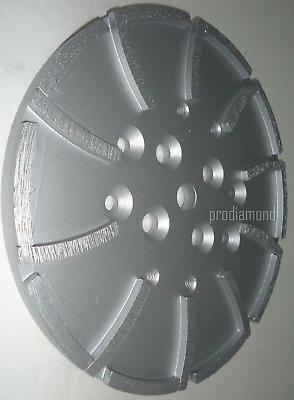 "2PK--10""MK Diamond EDCO Blastrac Concrete Grinder 20 Seg Diamond Disc Head-Best"