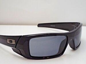 0e53e6f6de Authentic Oakley 03-471 Gascan Polished Black Grey Lens Sunglasses ...