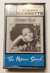 Diana-Ross-Greatest-Hits-Cassette-Tape-1979-The-Motown-Sound