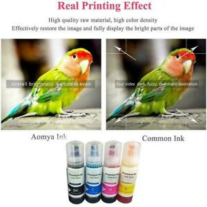 Refill Ink For Epson L1110 L1118 L3169 L4150 L5190 70ML Printer Ink EcoTank L9Q3