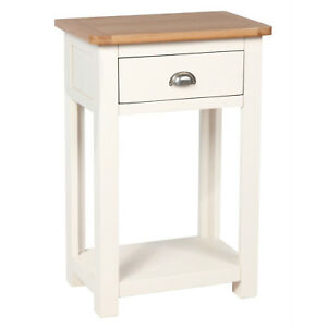 small cream console table. Image Is Loading Millbrook-Cream-Painted-Small-Console-Table-Oak-Hallway- Small Cream Console Table S