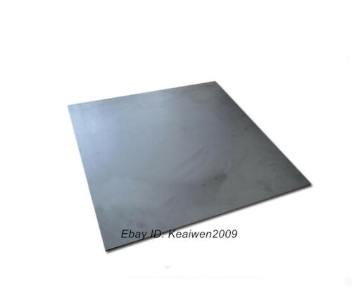 150x150x20mm Graphite Plate Sheet Carbon Vane Electrode Mould Sanode 20mm thick