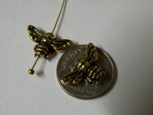 TierraCast Pewter Charms Gold Collection Great Variety USA Flat Ship!