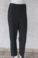 MARGI KENT WOMEN  PANTS BLACK MADE IN USA